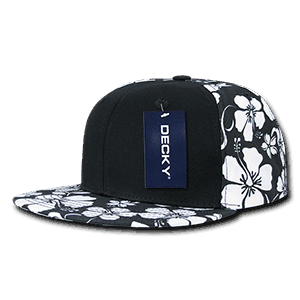 Floral solid front snapback (1067)