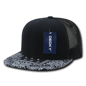Bandanna trucker cap (1083)