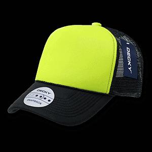 Two tone neon trucker cap (220)