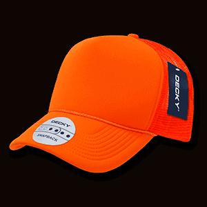 Solid colour neon trucker cap (221)