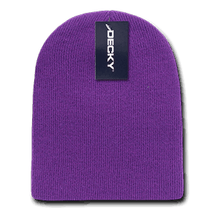 Short knit beanie (614)