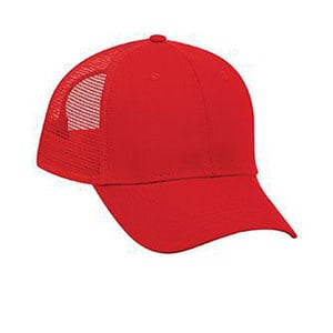 Six panel promo cotton twill mesh back cap (83-1101)