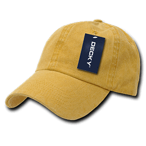 Pigmented dyed polo cap (841)